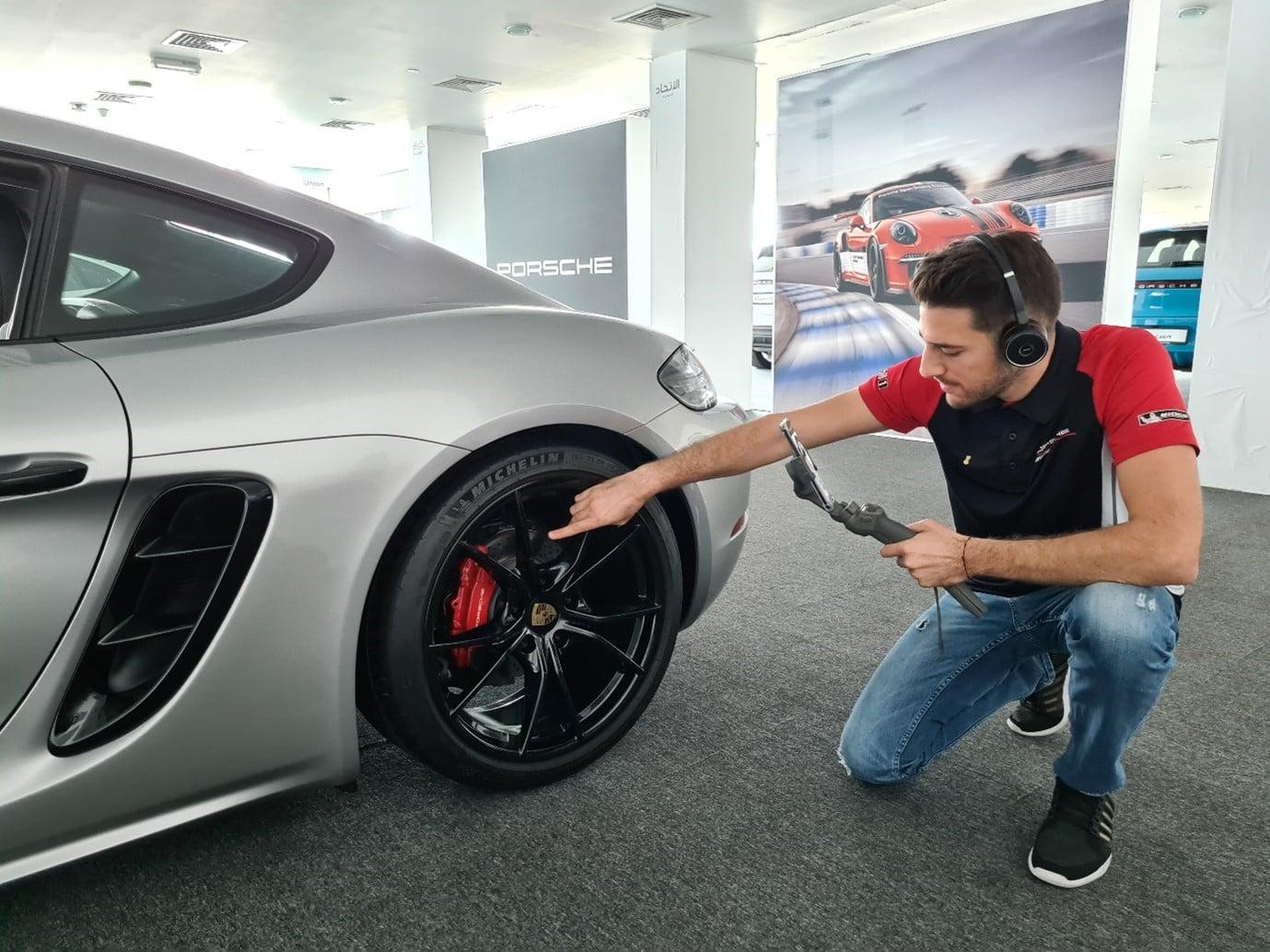Porsche Virtual Showroom