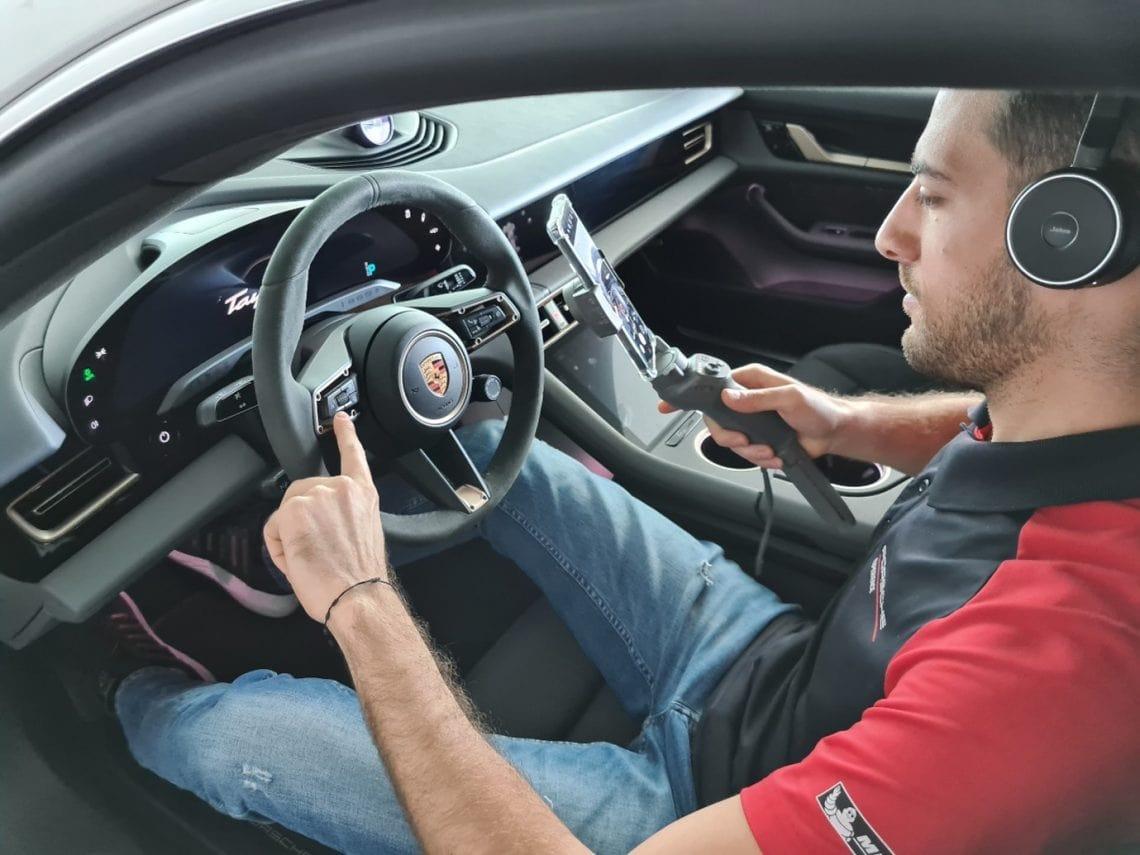 Porsche Virtual Showroom Call
